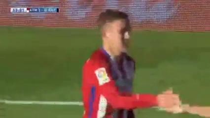 Atlético Madrid 1-0 Rayo Vallecano - Golo de A. Griezmann (55min)