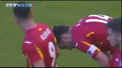 Deportivo La Coruña 0-2 Getafe - Golo de Pedro León (41min)