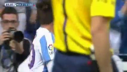 Málaga 3-1 Levante - Golo de D. Čop (89min)