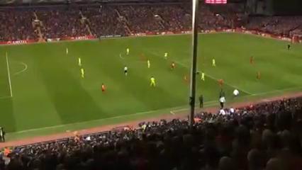 Liverpool 3-0 Villarreal - Golo de A. Lallana (81min)