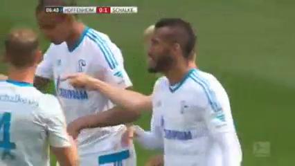 Hoffenheim 1-4 Schalke 04 - Golo de K. Huntelaar (7min)
