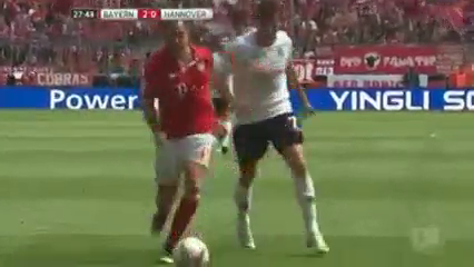 Bayern München 3-1 Hannover 96 - Golo de M. Götze (28min)