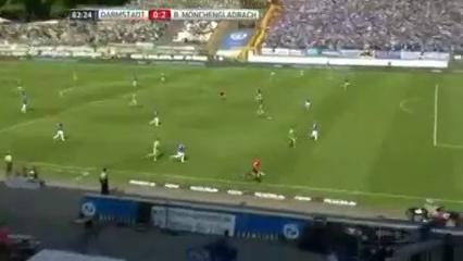 Darmstadt 98 0-2 Borussia M'gladbach - Golo de A. Hahn (63min)