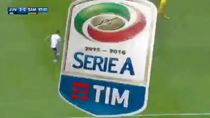 Juventus 5-0 Sampdoria - Golo de P. Dybala (37min)