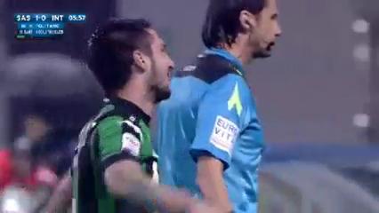 Sassuolo 3-1 Internazionale - Golo de M. Politano (6min)