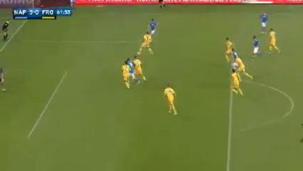 Napoli 4-0 Frosinone - Golo de G. Higuaín (62min)
