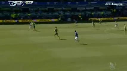 Everton 3-0 Norwich City - Golo de J. McCarthy (19min)