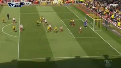 Watford 2-2 Sunderland - Golo de S. Prödl (48min)