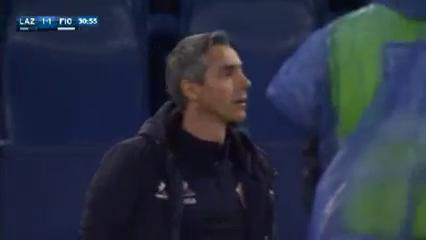 Lazio 2-4 Fiorentina - Golo de M. Vecino (31min)
