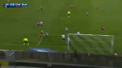 Udinese 1-2 Carpi - Golo de S. Verdi (38min)