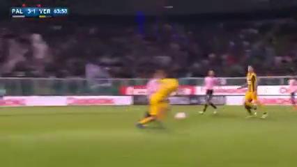 Palermo 3-2 Hellas Verona - Golo de A. Gilardino (64min)
