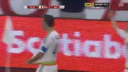 Mexico 3-1 Uruguay - Golo de R. Márquez (85min)