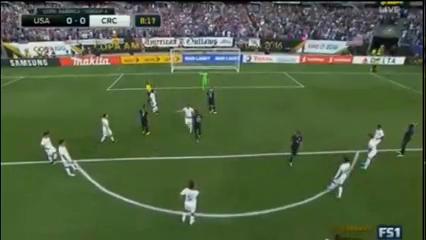 United States 4-0 Costa Rica - Golo de C. Dempsey (9min)