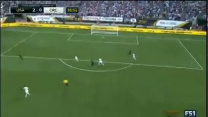 United States 4-0 Costa Rica - Golo de J. Jones (37min)