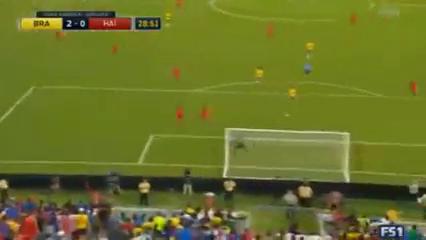 Brazil 7-1 Haiti - Golo de Philippe Coutinho (29min)