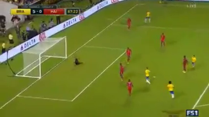 Brazil 7-1 Haiti - Golo de Lucas Lima (67min)