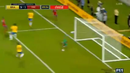 Brazil 7-1 Haiti - Golo de J. Marcelin (70min)
