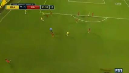Brazil 7-1 Haiti - Golo de Philippe Coutinho (90+2min)