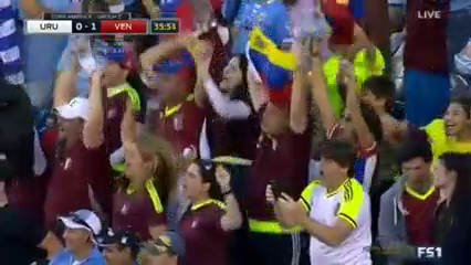 Uruguay 0-1 Venezuela - Golo de S. Rondón (36min)