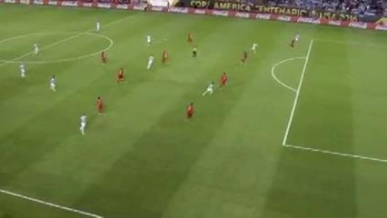 Argentina 5-0 Panama - Golo de S. Agüero (90min)