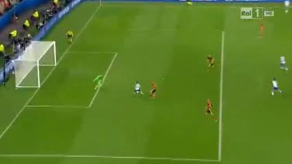 Belgium 0-2 Italy - Golo de E. Giaccherini (32min)