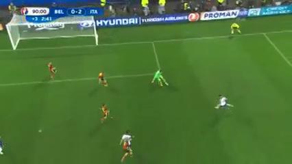 Belgium 0-2 Italy - Golo de G. Pellè (90+2min)