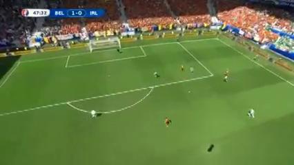 Belgium 3-0 Republic of Ireland - Golo de R. Lukaku (48min)