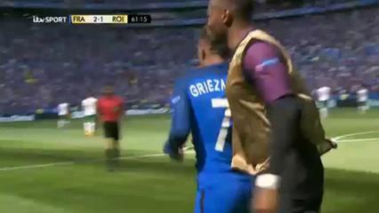 France 2-1 Republic of Ireland - Golo de A. Griezmann (61min)