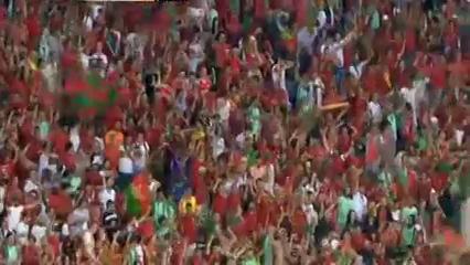 Portugal 2-0 Wales - Golo de Cristiano Ronaldo (50min)