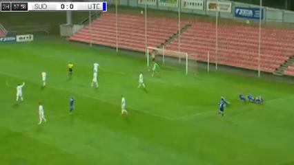 Sūduva 2-1 Utenis Utena - Golo de P. Janušauskas (70min)