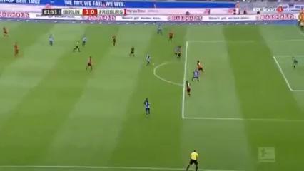 Hertha BSC 2-1 Freiburg - Golo de V. Darida (62min)