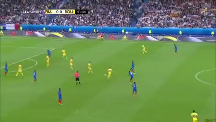 Франция - Румыния 2:1 видео