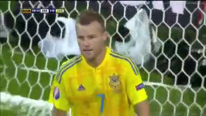 Германия - Украина 2:0 видео