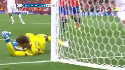 Испания - Чехия 1:0 видео
