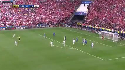 Исландия - Венгрия 1:1 видео