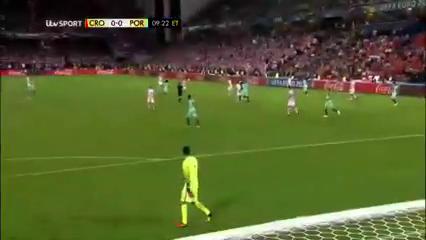 Хорватия - Португалия 0:1 (доп.вр.) видео