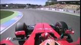 Kimi Raikkonen - Hockenheim, FP2 (Onboard)