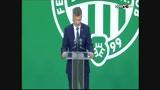 Kubatov-beszéd a stadionavatón