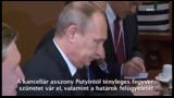 Háromszor győzködte Merkel Putyint