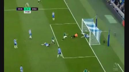 Brighton & Hove Albion 3-1 West Bromwich Albion - Golo de J. Morrison (77min)