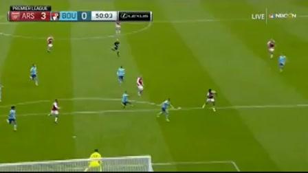 Arsenal 3-0 AFC Bournemouth - Golo de D. Welbeck (50min)