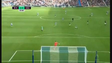 Brighton & Hove Albion 3-1 West Bromwich Albion - Golo de P. Groß (48min)