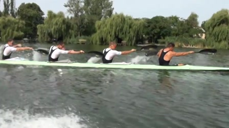 Ilyen egy edzés Fábiánné csónakjából nézve