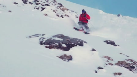 Freeride a francia Alpokban