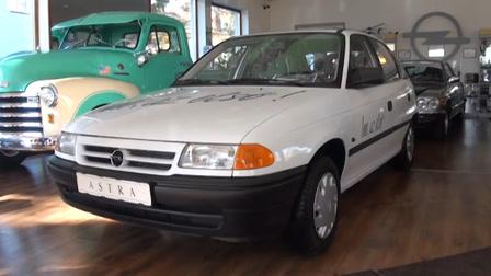 Újraindult az első Opel Astra