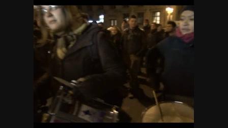 Egyetemisták tüntettek Budapesten