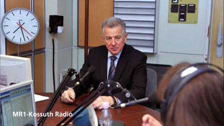 Schmitt Pál - rádióinterjú