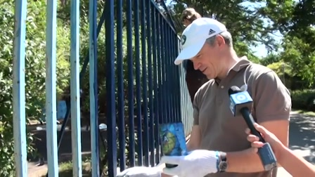 Kerítésfestés önként