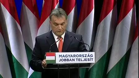 Orbán Viktor évértékelő beszéde 2013
