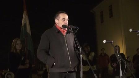 Tüntetés a Dísz téren